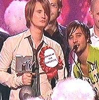 Röyksopp stakk av med prisen for beste video. Foto: mtve.com.