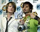 Röyksopp, foto:MTV, Scanpix