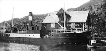 Ingvald Austgulen sin landhandel på Furnes i 1936, og D/S