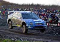 Petter Solberg kan kjøre alle slags biler, men i konkurranser er det alltid Subaru. (Foto:REUTERS/Darren Staples )