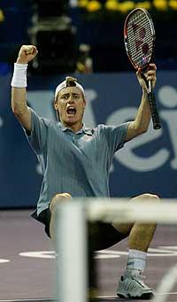 TOPPSEEDET: Lleyton Hewitt er nummer én på verdensrankingen.