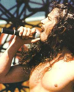 Chris Cornell, tidligere Soundgarden skal være den vokale fronten i Audioslave. Foto: Platecover.