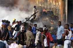Flere mennesker er drept i opptøyer i Nigeria i dag. Foto: Reuters