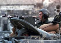 Israelske styrker har igjen inntatt Betlehem og flere andre byer på Vestbredden. (Foto: Magnus Johansson, Reuters)