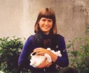Torunn med katten
