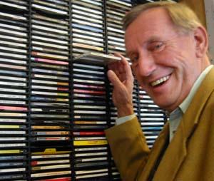 Cato Poulsen plukker jazz. (Foto: Erling Wicklund)