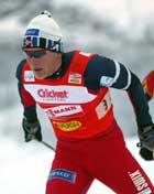 Tor Arne Hetland i aksjon under søndagens 4x10 km stafett for menn. Foto: Bjørn Sigurdsøn/SCANPIX.