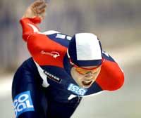 Lasse Sætre kilte seg inn blant nederlenderne og fikk bronse.