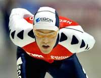 Carl Verheijen vant, men tapte fire tideler til Lasse Sætre på sisterunden. (Foto: Paul Vreeker/reuters)