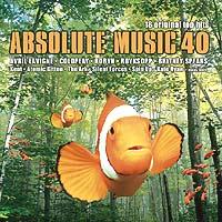 Absolut Music 40 solgte 52.000 eksemplarer. Langt mindre enn mange av sine forgjengere. Foto: EMI.