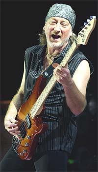Deep Purple: Bassist Roger Glover. Foto: John Li / Getty Images.