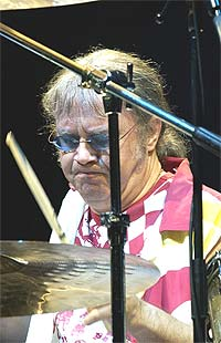 Deep Purple: Trommeslager Ian Paice . Foto: John Li / Getty Images.