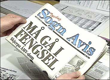 Førsteutgåva av Sogn Avis i 1993. (Alle foto: Atle Løkken, NRK)