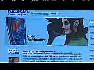 Nokia markedsfører seg effektivt og appellerer til det trendy og det urbane mennesket.