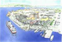 Storkaia Brygge er et av prosjektene som fører til økt byggeaktivitet i Kristiansund.