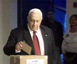 Statsminister Ariel Sharon (foto: Scanpix).