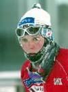 Bente Skari har gått under kalde forhold også tidligere i sesongen.