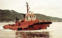 """Slepebåten """"Siw Boa"""" deltek også i oljevernoperasjonen på Galicia-kysten (Foto: Boa Offshore)"""