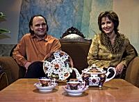 Sven Ohrvik og Veslemøy Solberg. Foto: Scanpix