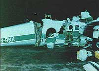 Kan sideroret på ulykkesflyet ha vært skadet av vinden, og senere blitt ødelagt av turbulens? Kanskje, mener flyger.