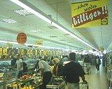 Slik er interiøret i en av Lidl-butikkene i Tyskland.