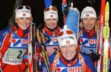 Tora Berger:I skiskyttereliten