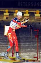 Gunn Margit Andreassen fikk skjelven på siste skyting. (Foto: Cornelius Poppe/scanpix)