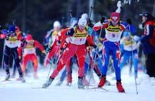 Egil Gjelland kjempet i teten på første etappe. (Foto: Cornelius Poppe/scanpix)