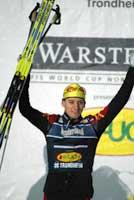 Björn Kircheisen er den første som har tatt tre kombinertseire på en helg. (Foto. Gorm Kallestad)