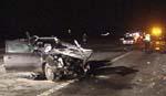 Tre personer omkom i den tragiske ulykken ( Foto: Tobias Sakrisvold Martinsen )