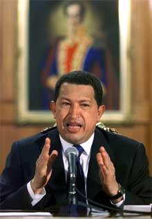Venezuelas president Hugo Chavez er omstridt i hjemlandet. (Akrivfoto: Reuters/Scanpix)