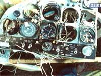 Fra cockpiten i Twin Otter-maskin LN BNK som styrtet i havet med 15 mennesker om bord.