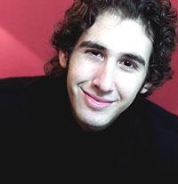 """20 år og operastjerne: Josh Groban fra California omtales gjerne som """"den nye Andrea Bocelli"""". Foto : Berit Roald / SCANPIX."""