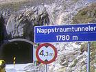 Nappstraumtunnelen i Lofoten.