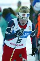 Anita Moen gikk inn til tredjeplass. (Foto: Erik Johansen/Scanpix)