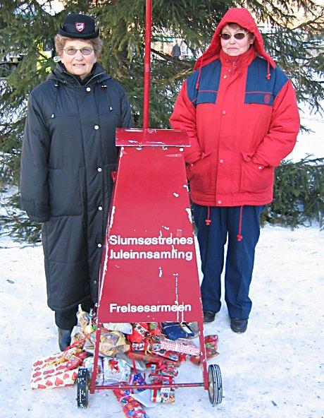 Julegryta i Drammen. Foto: Anders Nielsen