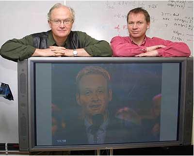 Drømme-tv-en, men drøy et par år før du satser på flatskjerm, råder Per Bøhler og Bjørn Aarseth.