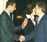 Blair møtte Syrias President Bashar Al-Assad i London (foto: Scott Barbour/Getty Images)