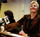 Kulturminister Valgerd Svarstad Haugland offentleggjorde avgjerda fredag ettermiddag.