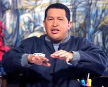 DÅRLIG TAPER: Venezuelas president Hugo Chavez er en dårlig taper, mener opposisjonen i landet.(Foto: Getty Images)