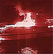 Scandinavian Star brant i april 1990, 159 mennesker omkom i den tragiske brannen.
