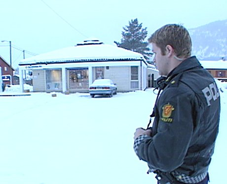 Sparebanken Østs filial i Solbergelva i Nedre Eiker. Foto: Harald Inderhaug.