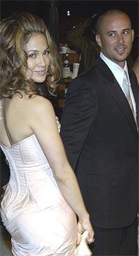 Jennifer Lopez har rukket å skille seg fra ektemannen Chris Judd (bildet) og å inngå forlovelse med Ben Affleck i 2002. Foto: AP Photo / Chris Weeks.