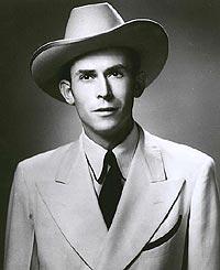 Hank Williams regnes som tidenes største country-artist, selv om hele livet hans var en lang serie av selvmotsigelser. Foto: Hank Williams Fan Club.