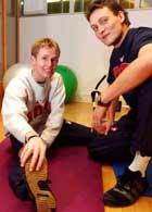 Roar Ljøkelsøy og Mika Kojonkoski (Foto: Erlend Aas/Scanpix)