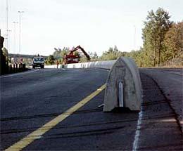 Midtrekkverk som dette kan redde liv i trafikken (Arkivfoto).