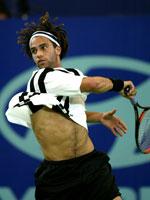 James Blake har blitt en publikumsfavoritt, men er nå slått ut av French Open. (Foto: Reuters)