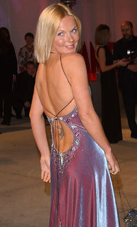 Geri Halliwell på Vanity Fairs Oscar-party 2002 (Foto: Getty Images)