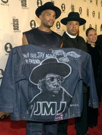 Run-DMC hedret Jay på VH1 Big In 2002 Awards. Foto: Getty Images