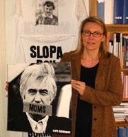Kristina Ahlinder mener Norge bør droppe fastpris på bøker.